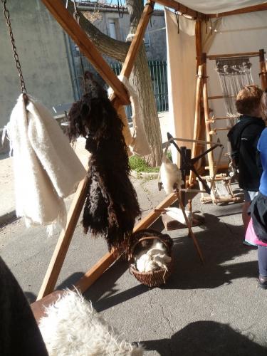 sud,patrimoine,méditerranée,murviel les montpellier,métiers,tisserand,forgeron,mosaïste,culture,histoire