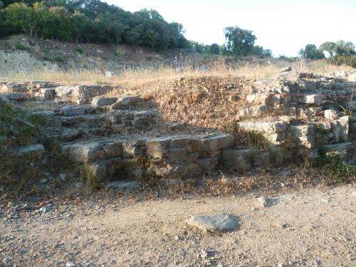 murviel les montpellier,fouilles,archéologie,site antique,forum antique